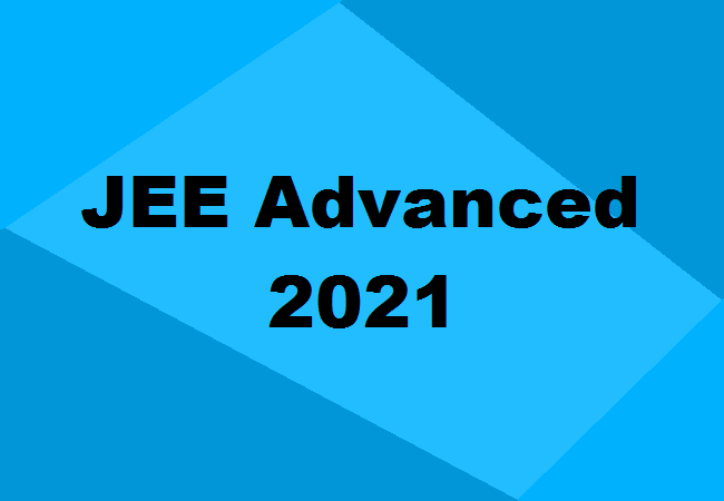 JEE-Advanced 2021