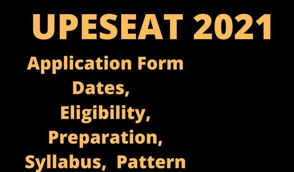 UPESEAT UG 2021