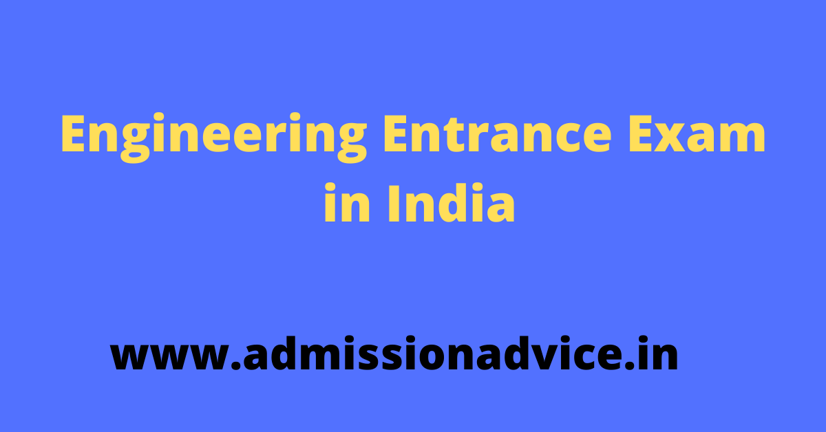 Engineering Entrance Exam in India
