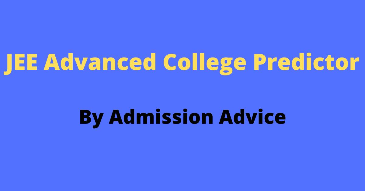 JEE Advanced College Predictor