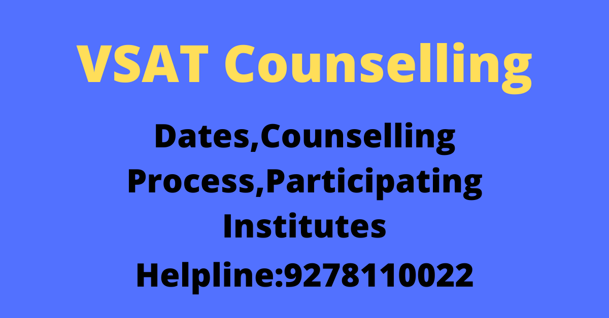 VSAT Counselling